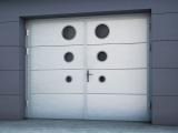 Распашные ворота для гаража Ритерна