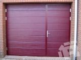 Распашные ворота для гаража Ryterna